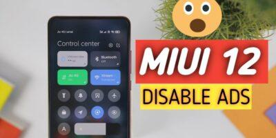 MIUI 12 jak wyłączyć reklamy